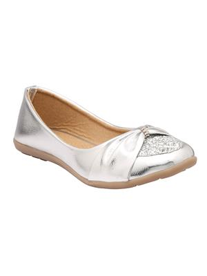Alkawal Ak-022 Silver Women Ballies