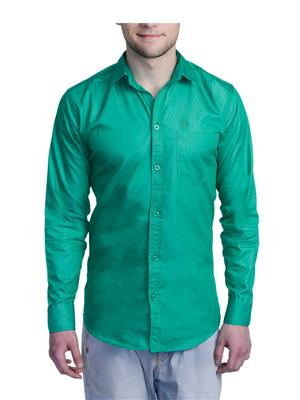Aligatorr ALI00109 Green Men Casual Shirt