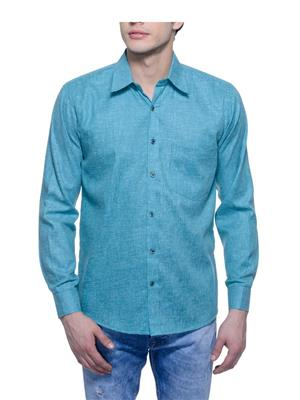 Aligatorr ALI00111 Green Men Casual Shirt