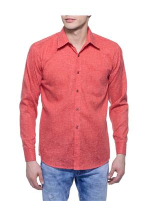 Aligatorr ALI00112 Red Men Casual Shirt