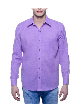 Aligatorr ALI00114 Violet Men Casual Shirt
