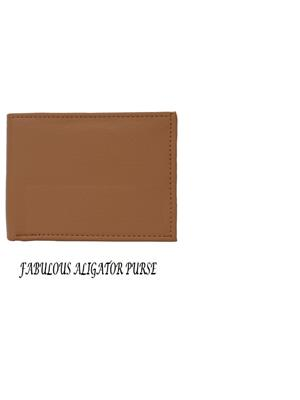 Aligatorr ALI0012 Tan Men Wallet