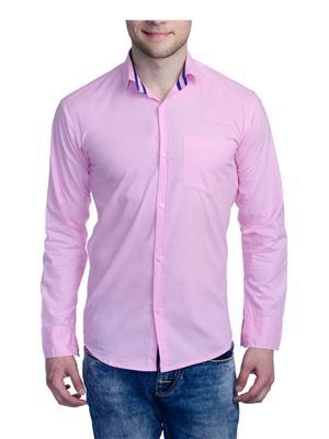 Aligatorr ALI00135 Pink Men Casual Shirt