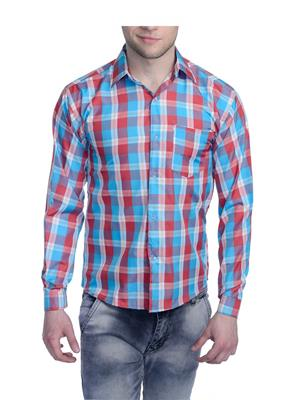 Aligatorr ALI0091 Red Men Casual Shirt