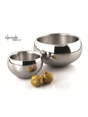 Alamode Design Home Almh20 Silver Bowl