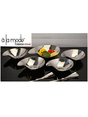 Alamode Design Home Almh43 Silver Bowl