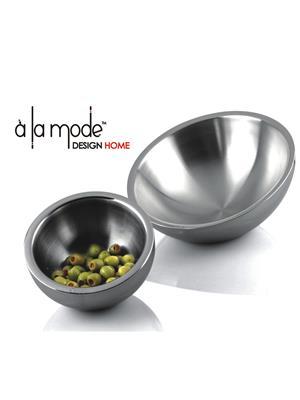 Alamode Design Home Almh4 Silver Bowl
