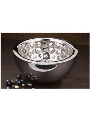 Alamode Design Home Almh50 Silver Bowl