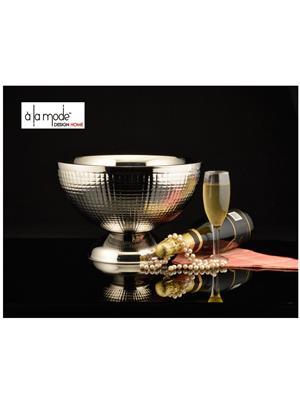 Alamode Design Home Almh52 Silver Bowl