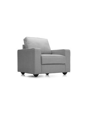 Amey ALRPL006 Light Grey Kian 1 Seater Sofa