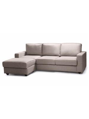 Amey ALRPL007 Light Brown Kian 3 Seater+Ottoman Sofa
