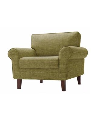 Amey ALRPL009 Light Green Asian 1 Seater Sofa