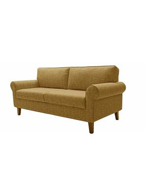 Amey ALRPL012 Brown Asian 3 Seater Sofa