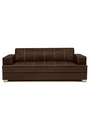 Amey ALRPL018 Brown Elegant 3 Seater