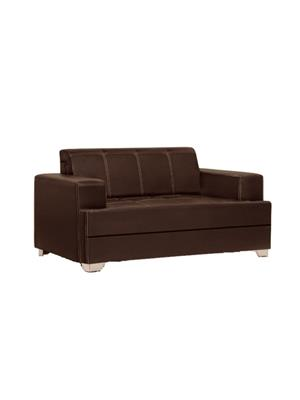 Amey ALRPL019 Brown Elegant 2 Seater