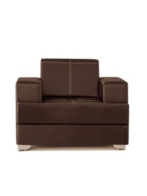 Amey ALRPL020 Brown Elegant 1 Seater