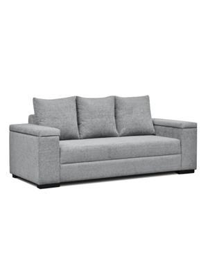 Amey ALRPL023 Silver Xinia 3 Seater Sofa
