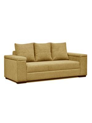 Amey ALRPL026 Brown Xinia 3 Seater Sofa