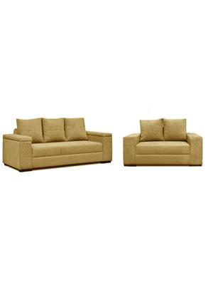 Amey ALRPL028 Brown Xinia 3+2 Sofa Set