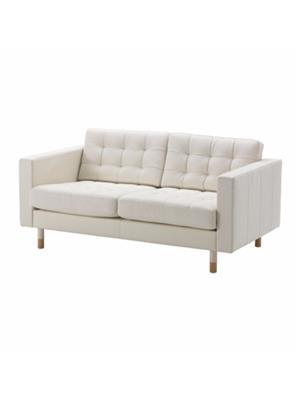 Amey ALRPL030 Off White Sino 2 seater sofa