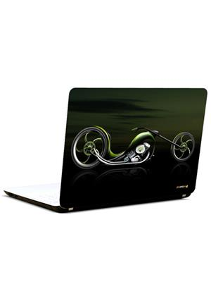 Pics And You AM102 Abstract Bike 3M/Avery Vinyl Laptop Skin Decal