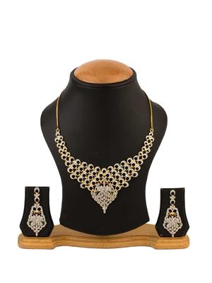 Quail ANCD1 2 Gold Necklace Sets