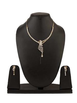 Quail ANEN1 2 Gold Necklace Sets