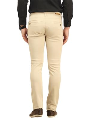 Apris A6310A Cream Men Trouser