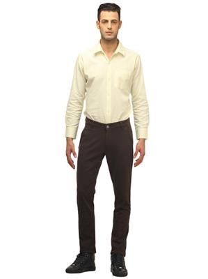 Apris A6310A Brown Men Trouser