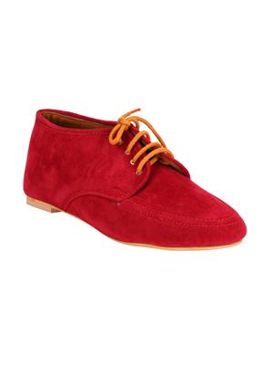 Fashion Mafia AS-1Maroon Women Casual Shoe