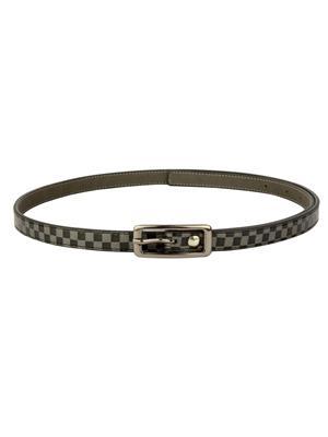 Scarleti Scrlfc-33 Black Check Women Belt
