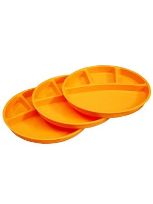 ASP Polyplast ASP-019 Orange Partition Plates 3 Pcs Set