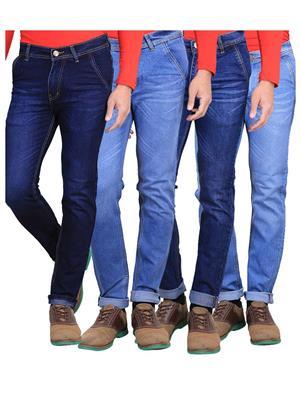 Ave Wskr-11-13-12-14 Blue Men Jeans Combo Pack