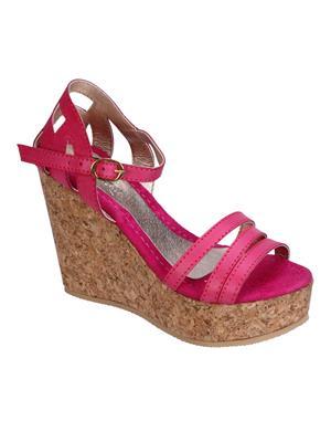 Fashion Mafia AW-2P Pink Women Wedges
