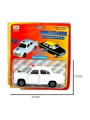 Centy Ambassador Taxi White Car set of 3