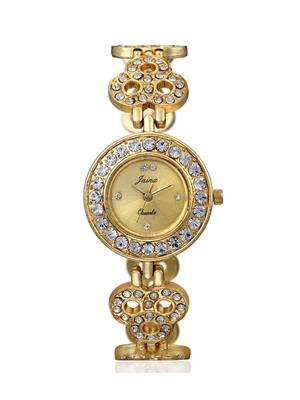 Green Mart Ap Wch 44 Golden Women Watch