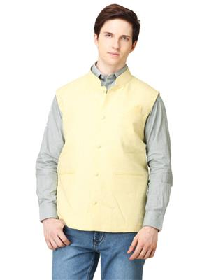 Apris WC103 Yellow Men Nehru Jacket