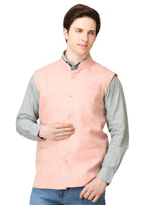 Apris WC104 Orange Men Nehru Jacket