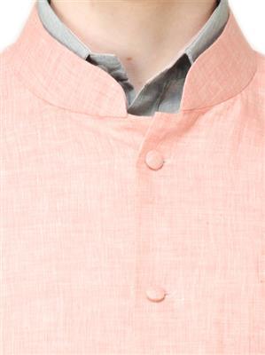 Apris WC104 Orange Men Nehru Jacket