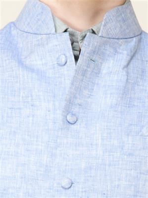 Apris WC105 Blue Men Nehru Jacket
