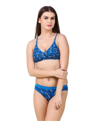Austin-W Aus021 Blue Women Lingerie Sets