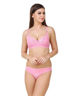 Austin-W Aus030 Pink Women Lingerie Sets