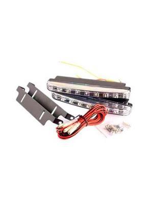 shosha Auto278 Letsmodify - Car Daylight Day Time Daytime Running Light Drl (8 Led) Super White Brig
