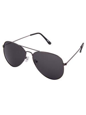Allen Cate Black Aviator Sunglasses