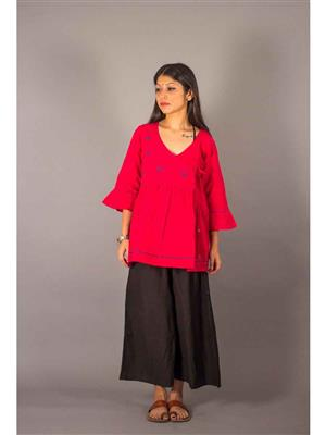 Bebaak B04 Red Women Shrug