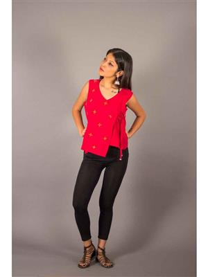 Bebaak B05 Red Women Shrug