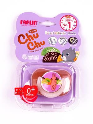 Farlin Ban S013 M Unisex-Baby Chu Chu Pacifier-Medium