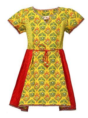 Budding Bees BB801 Yellow Girl Dress