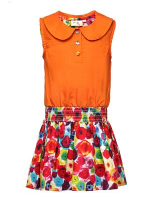 Budding Bees BB840 Multicolored Girl Dress