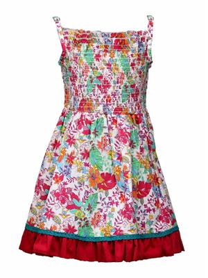 Budding Bees BB843 Multicolored Girl Dress